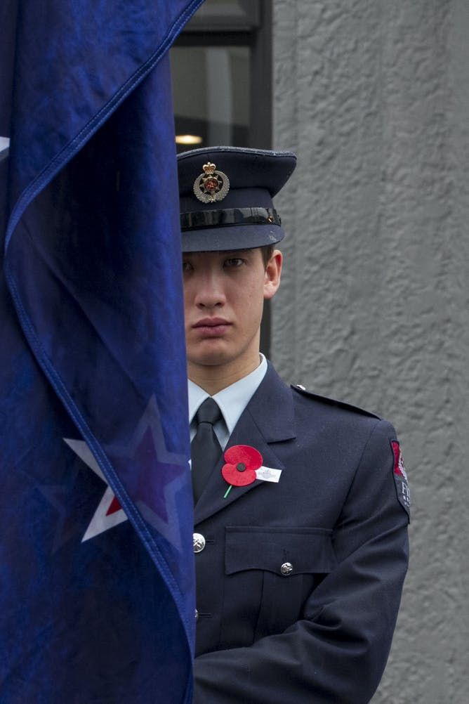 the other half of the anzac legend remembers its fallen in a queenstown anzac service aap