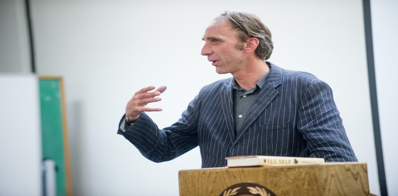 Will Self, George Orwell and ... what's he newspeaking about?