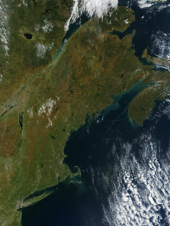 Fall Foliage In The Crosshairs Of Climate Change