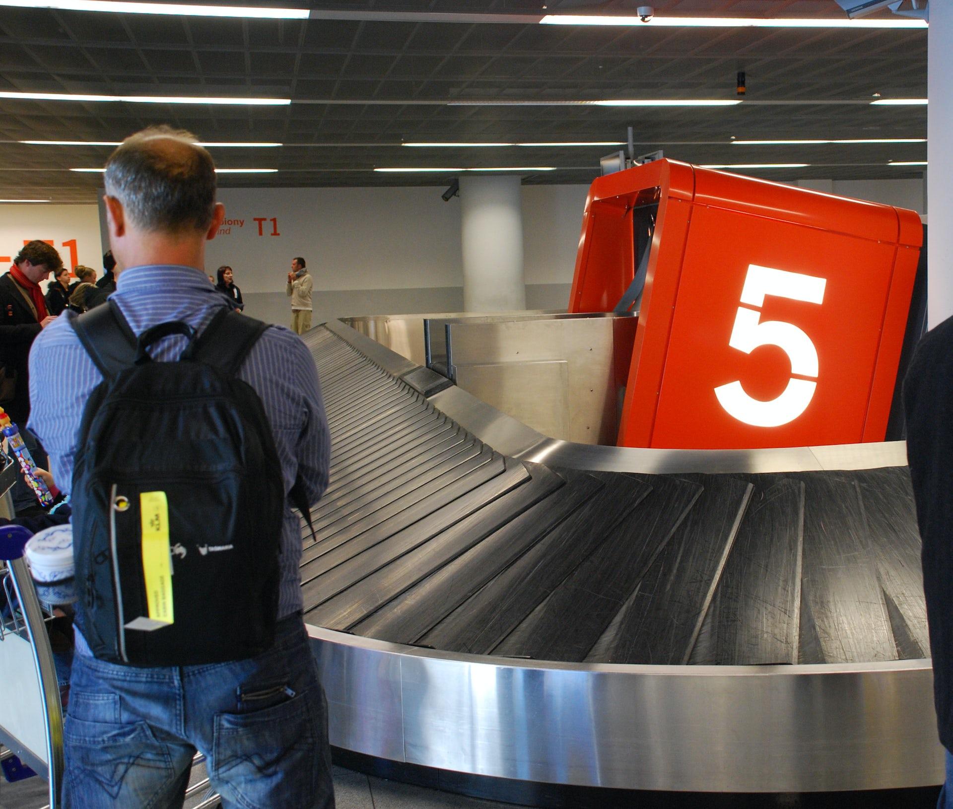 dating startup founder compensation for delayed baggage delta