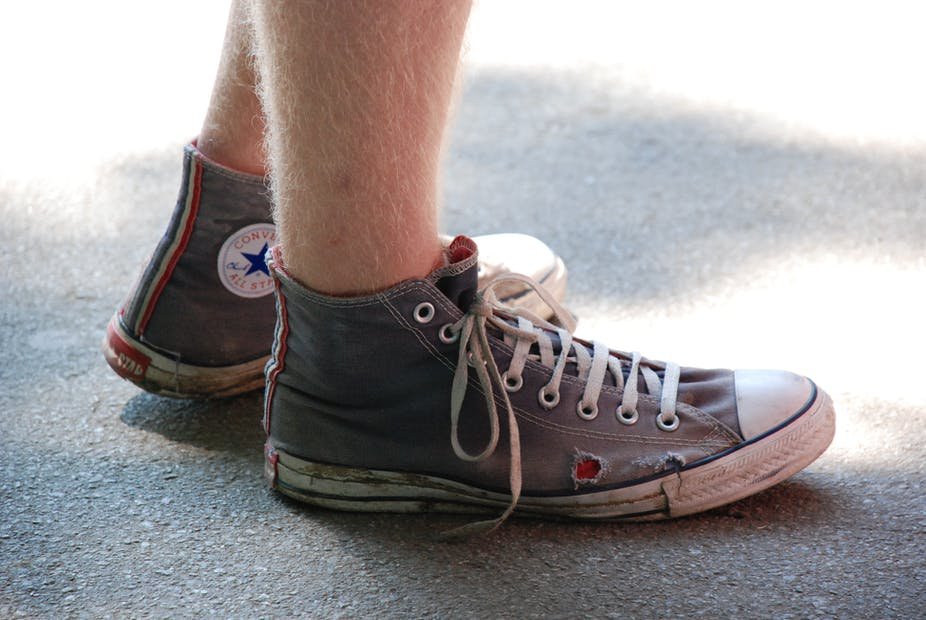 5ad199febbeb Why Converse has filed 31 lawsuits over century-old sneaker design