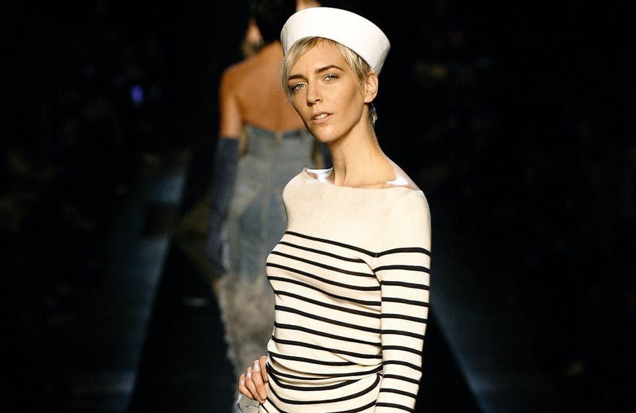 Jean Paul Gaultier And The True History Of Fashion Stripe