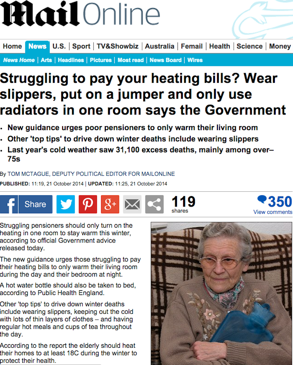 The Mail Rejects Slippers And Jumpers Advice Mailonline
