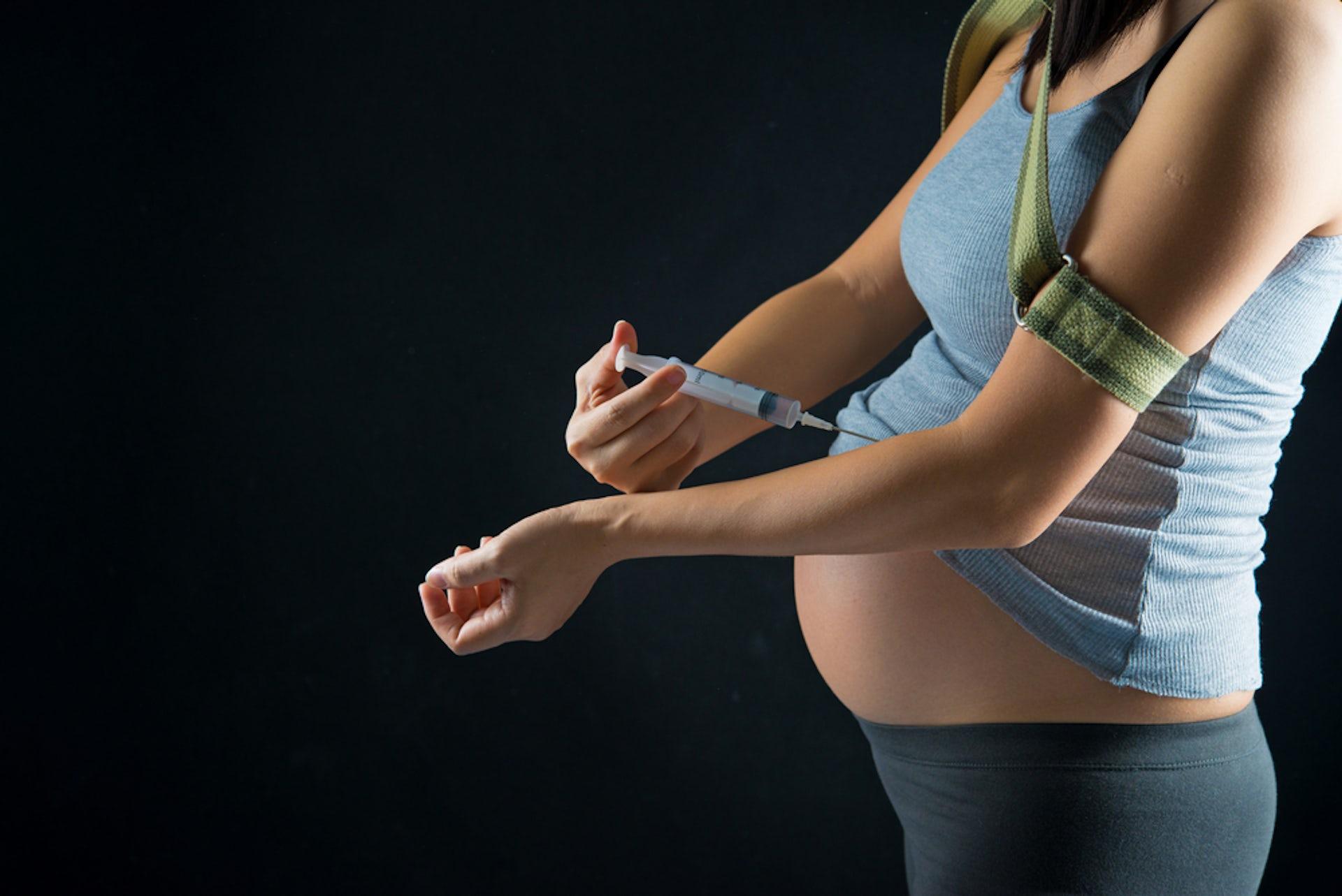 Cocaine addiction among pregnant women