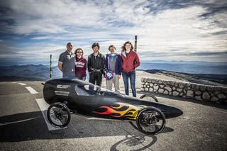 Scientists at work: building the world's fastest downhill racer