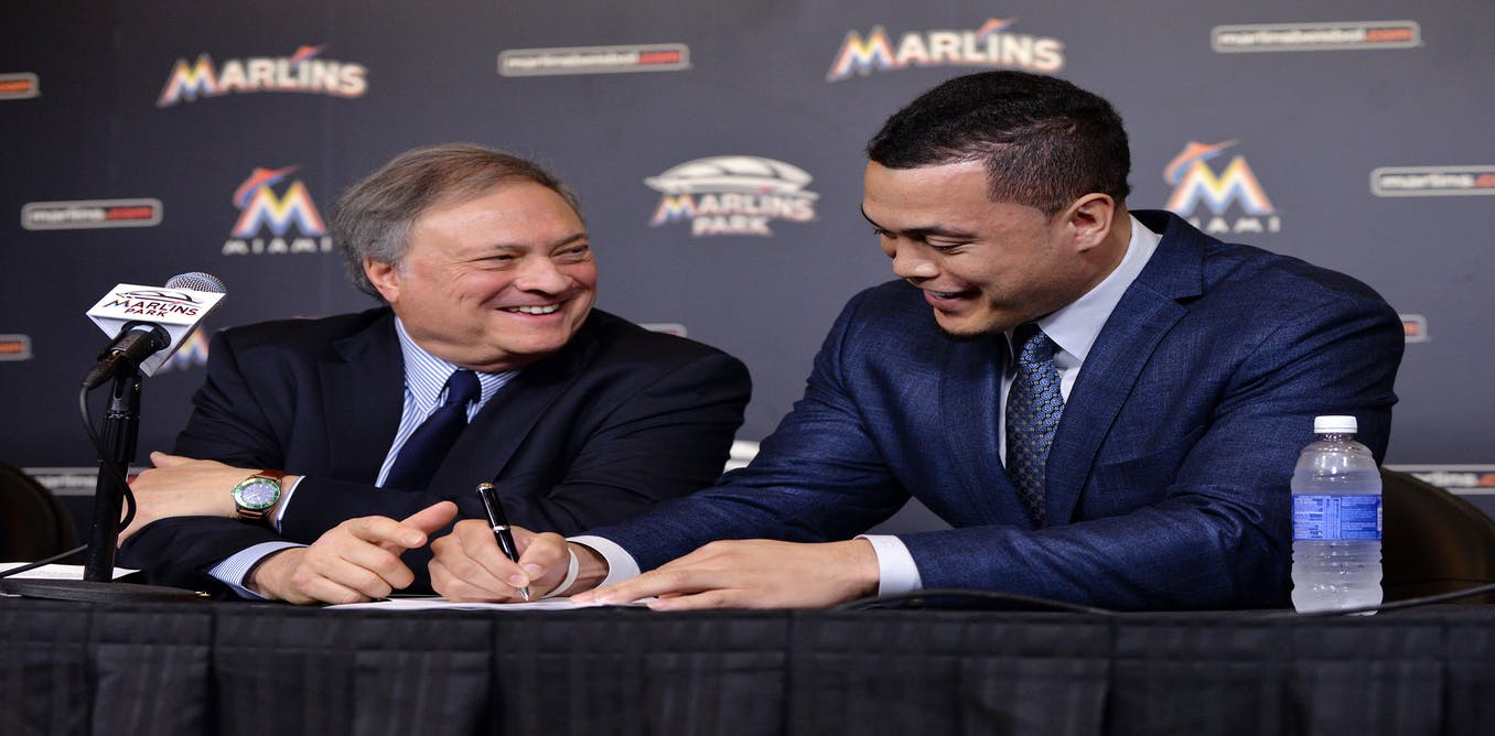 Breaking down Giancarlo Stanton's $325 million deal: could ...