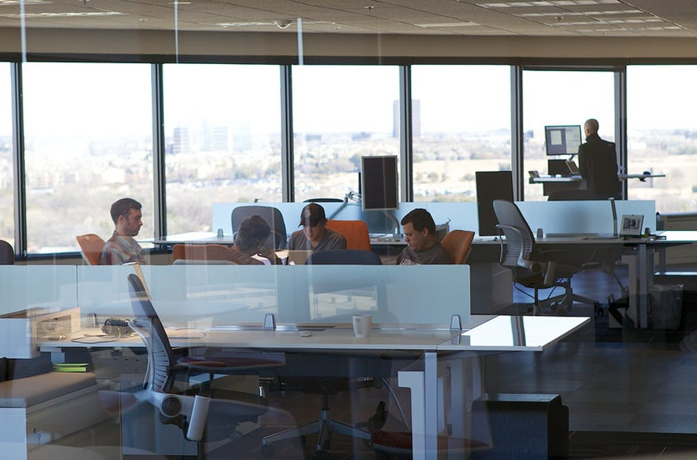 An Increasing Bank Of Research Shows People Who Work In Open Plan Offices Find It Difficult To Focus Chris Jagers Flickr