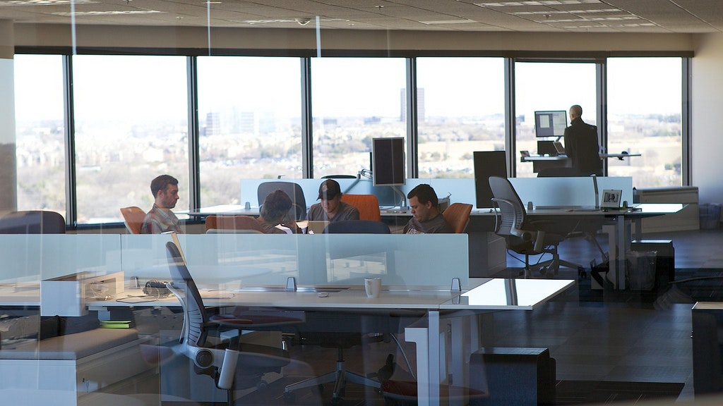An Increasing Bank Of Research Shows People Who Work In Open Plan Offices  Find It Difficult To Focus. Chris Jagers/Flickr