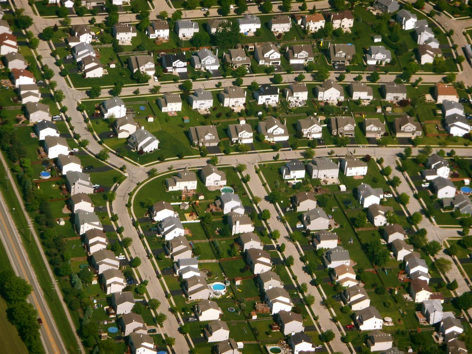 Image result for lonely suburbs