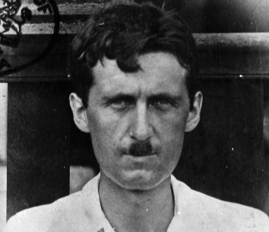 george orwell really did have a stint in jail as a drunk fish porter
