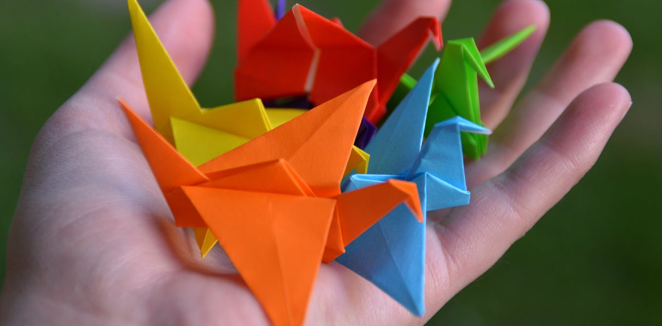 Origami mathematics in creasing jeuxipadfo Image collections