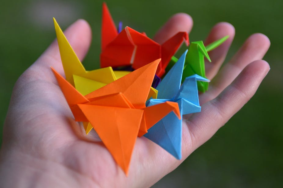 Origami Mathematics In Creasing