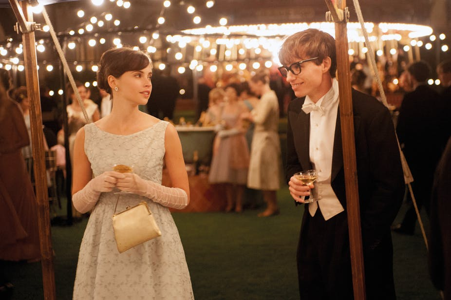 The Theory of Everything is inspiring, despite a hackneyed treatment of Hawking's work