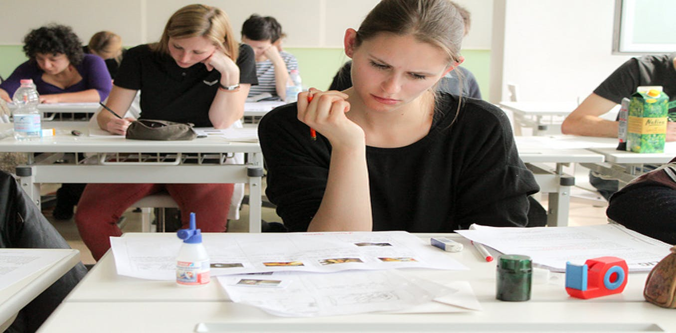 college students cheating on exams A majority of college students in a recent survey admitted to cheating on tests or written assignments.