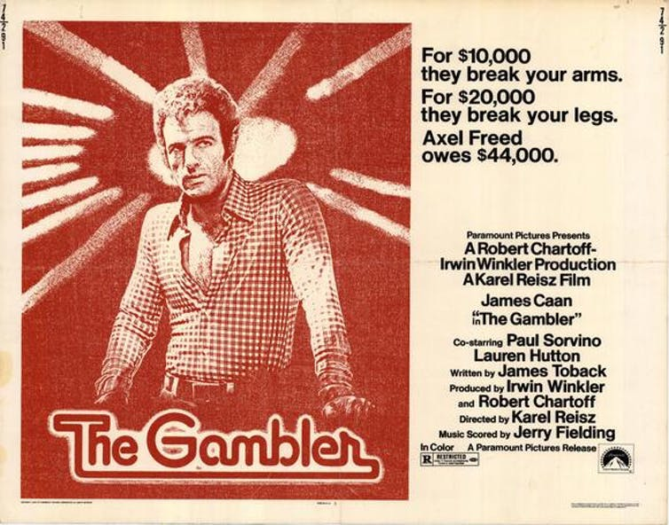 In The Gambler, an anti-hero story is retold