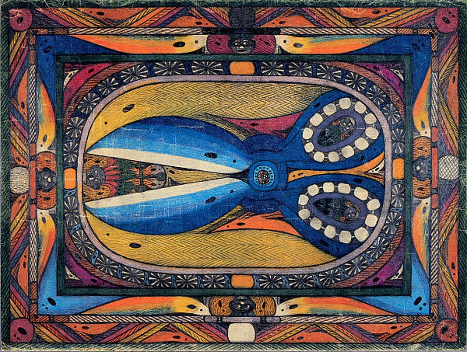 Wealthy Outsider Artist With >> Outsider Art Can Refashion How We Think About Mental Illness