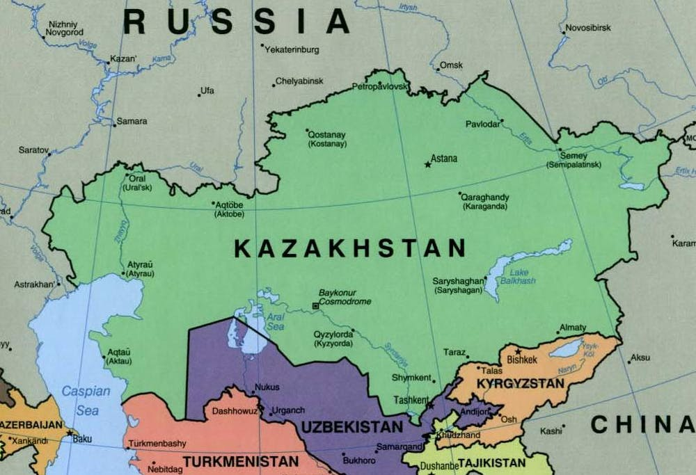 Kazakhstan Russia Map.Russia S Borders Moscow S Long Alliance With Kazakhstan Is Strong