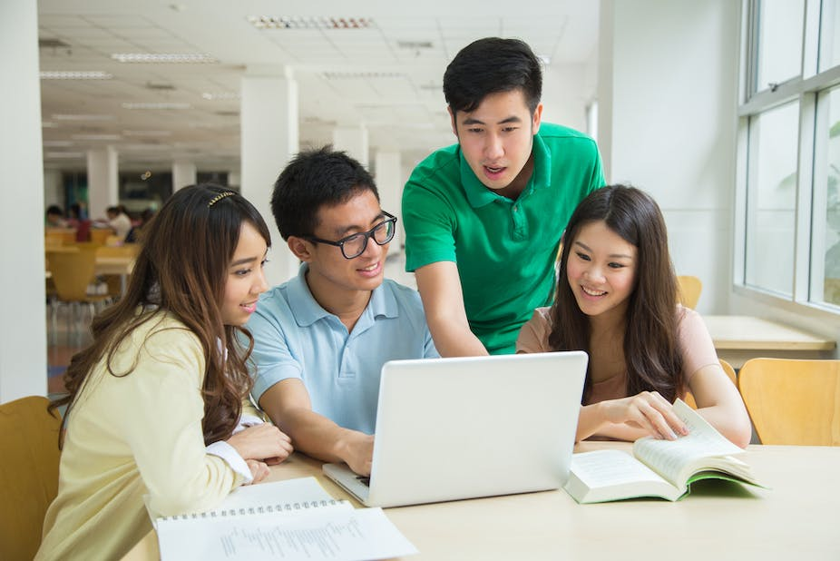 students asian foreign hard chinese shutterstock evidence discouraging immigration policy clip attractive via why