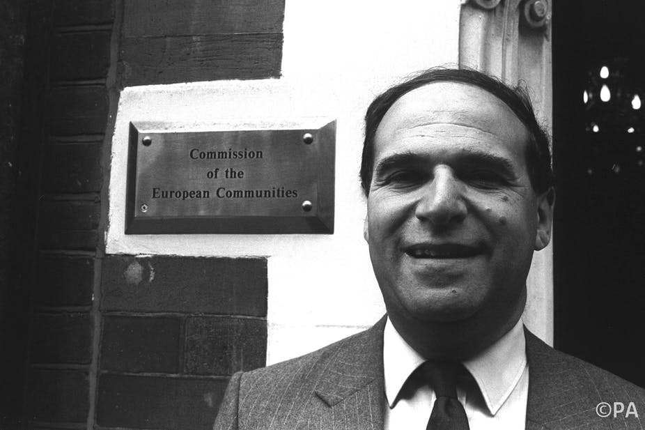 87c25c38c Leon Brittan: a commissioner with a neo-liberal vision for Europe