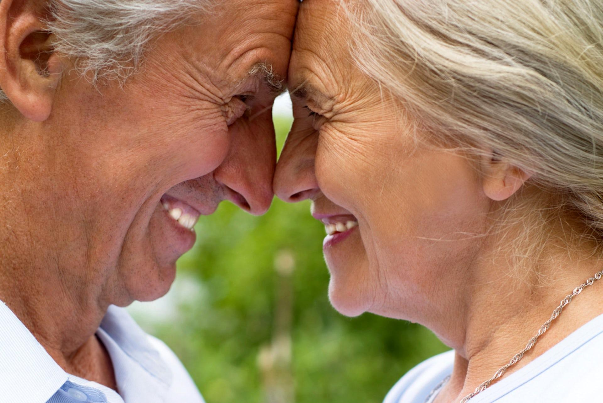 Older women having sexual intercourse