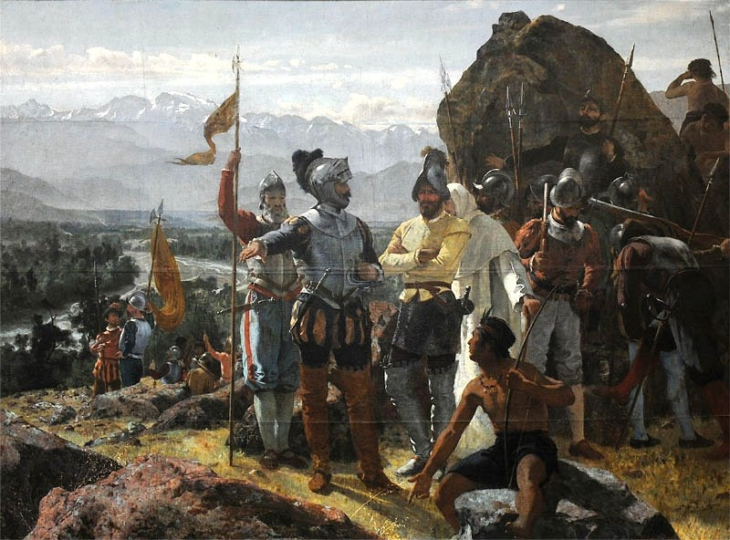Mining conquistadors caused air pollution 200 years before the industrial revolution