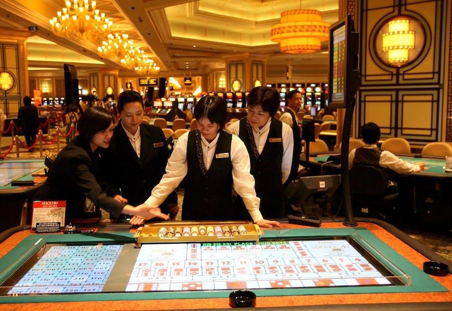 Gambling legal china caesar palace hotel casino