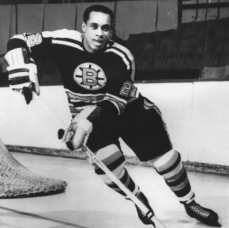 Only the puck was Black: a story of race and the NHL | New ...