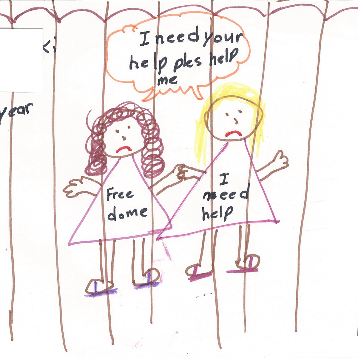 What Can We Draw From Pictures By Detained Child Asylum Seekers