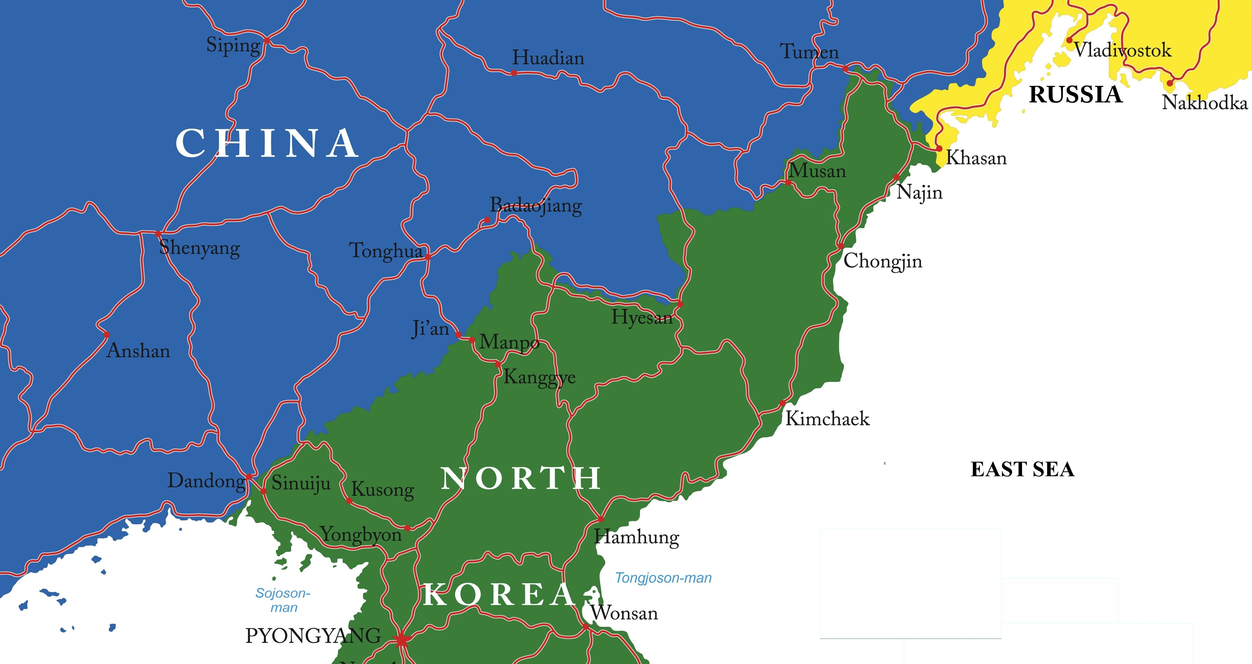 Russias borders North Korea is moving up Moscows agenda