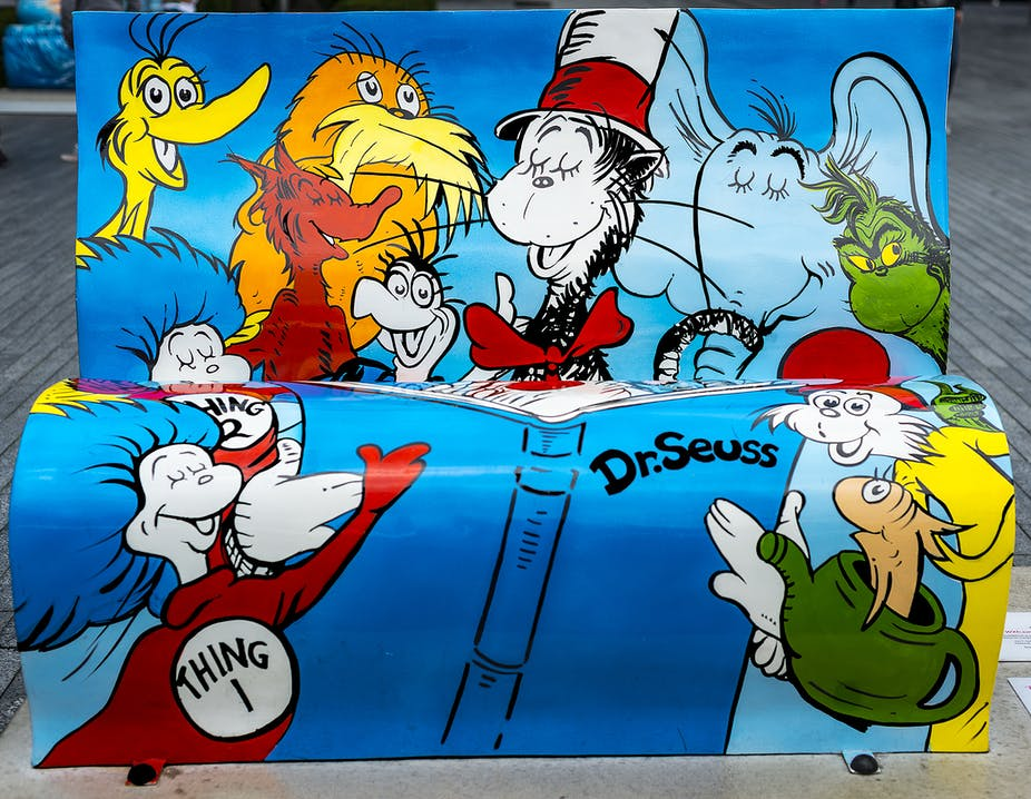 It's not obtuse to deduce there's a new Dr Seuss on the loose