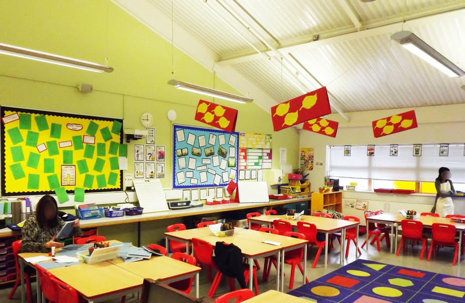 Classroom Design For Discussion Based Teaching : Classroom design can boost primary pupils progress by