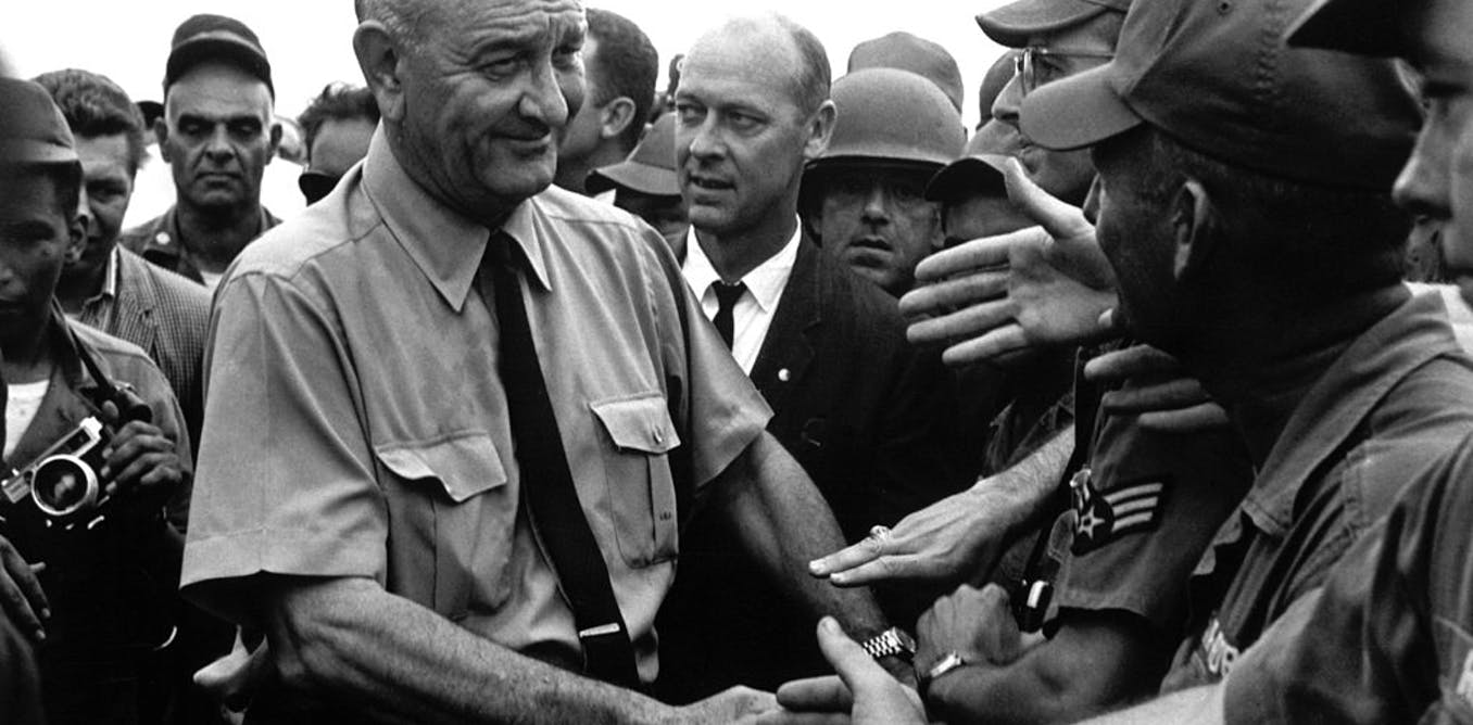 The choice: LBJ's decision to go to war in Vietnam