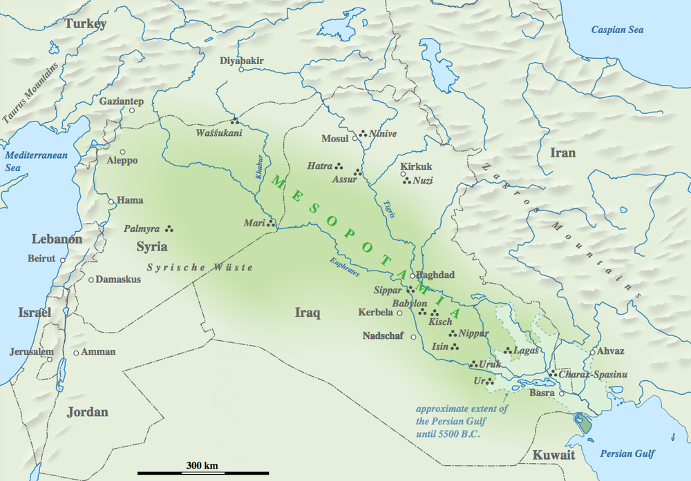 Ancient cities are being bulldozed by islamic state heres what map of mesopotamia goran tek en cc by sa gumiabroncs Images