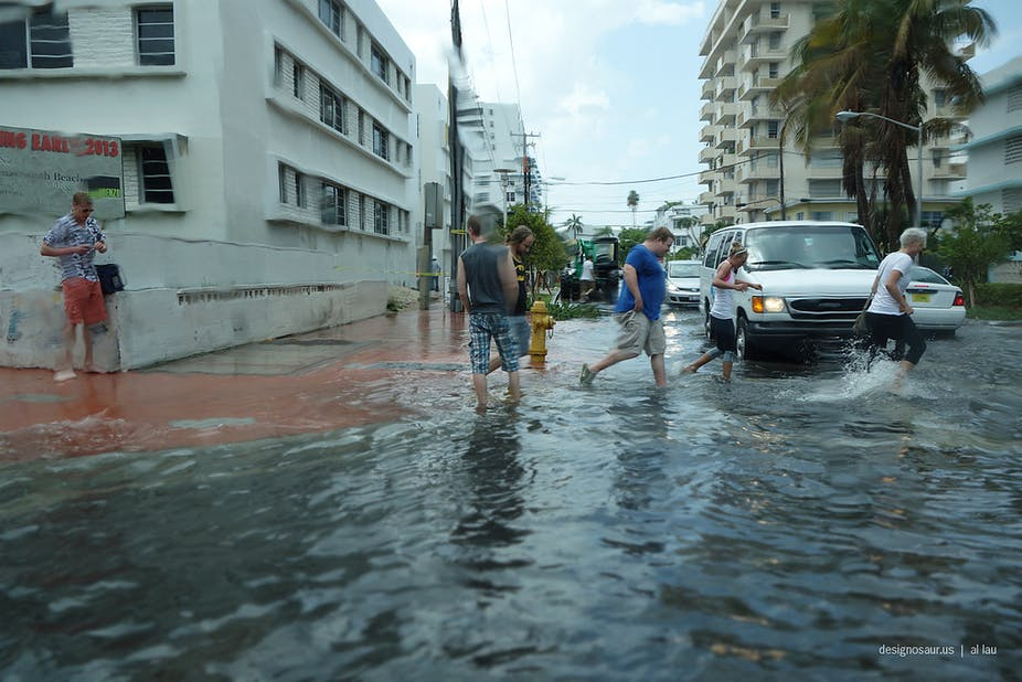 rising seas bring heavy burden to florida coastal economy can it adapt