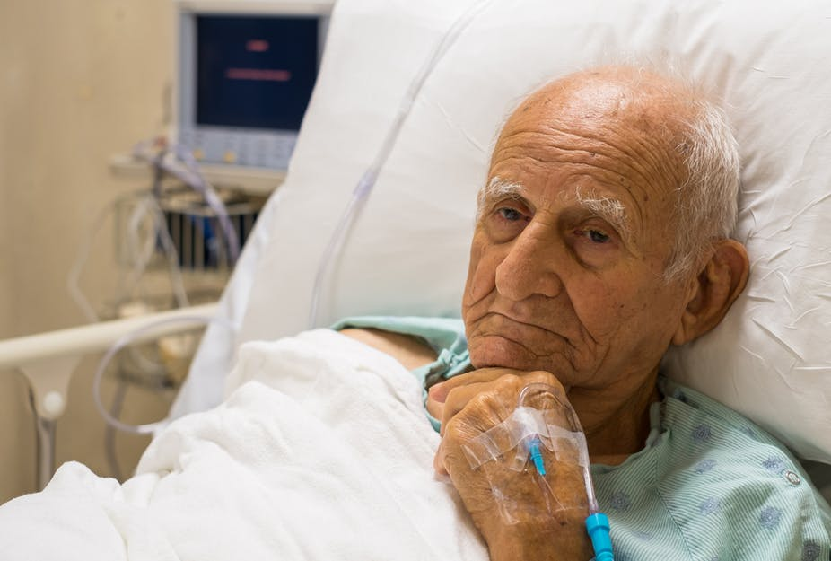 Why hospitals are dangerous for people with dementia and why it's up to families to help