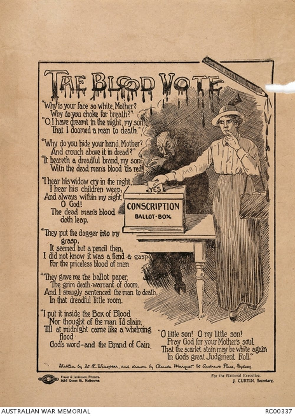 How The Great War Shaped The Foundations Of Australias Future An Anticonscription Leaflet From The  Referenda Era Awm Healthy Eating Essays also Essay On My Mother In English  High School Essay Sample