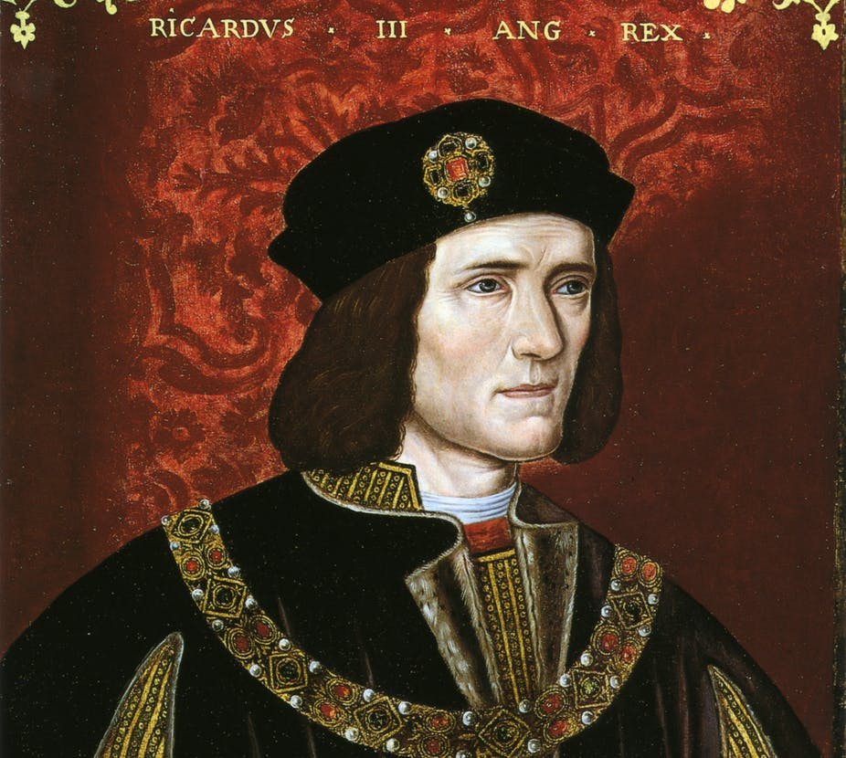 One Of Richard III's Many Embodiments Is Sent Off On His