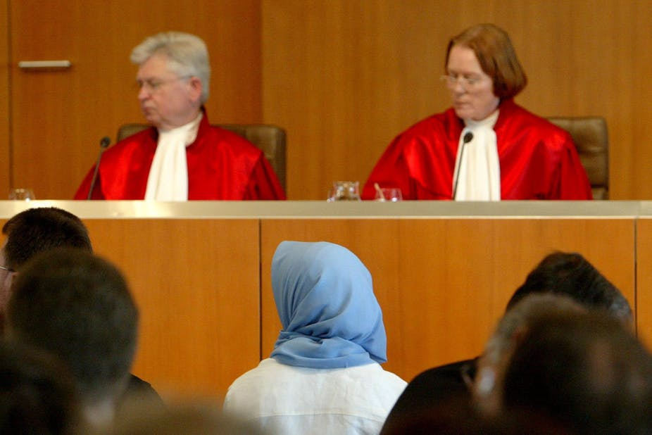 German Court Rules Against Banning Veil In Schools But Europe