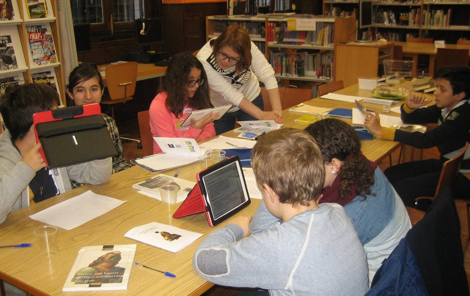 Classroom Design To Promote Literacy ~ Do mobile devices in the classroom really improve learning