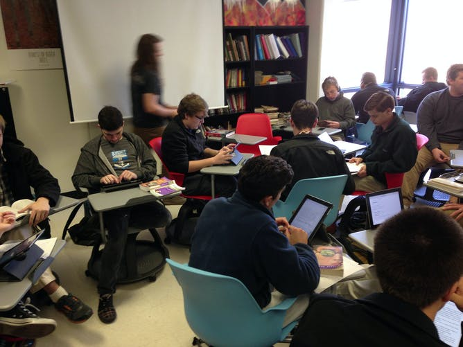 Modular Classroom Nc ~ Do mobile devices in the classroom really improve learning