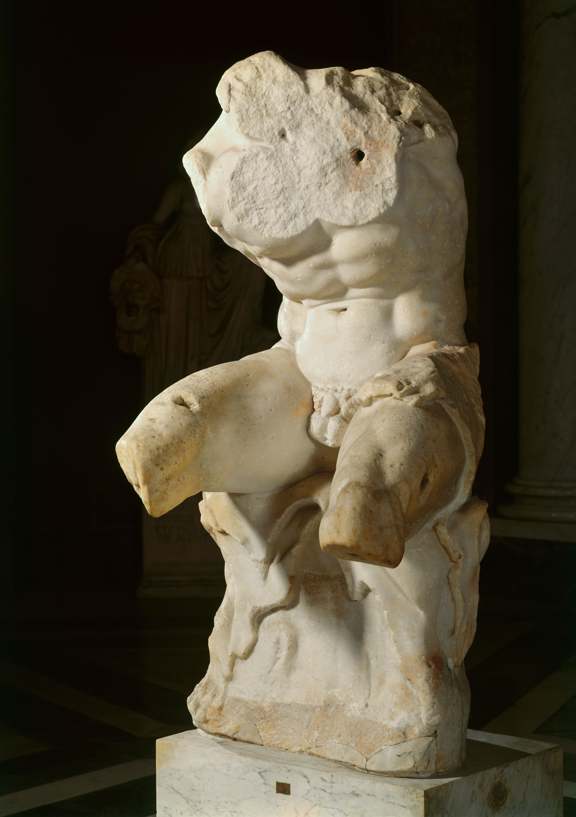 Greek sex statue