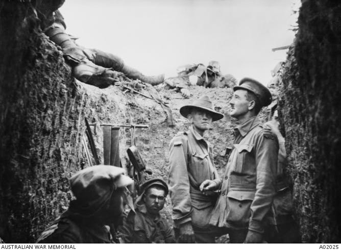 flies filth and bully beef life at gallipoli in  anzac iers in a trench at lone pine 1915 awm