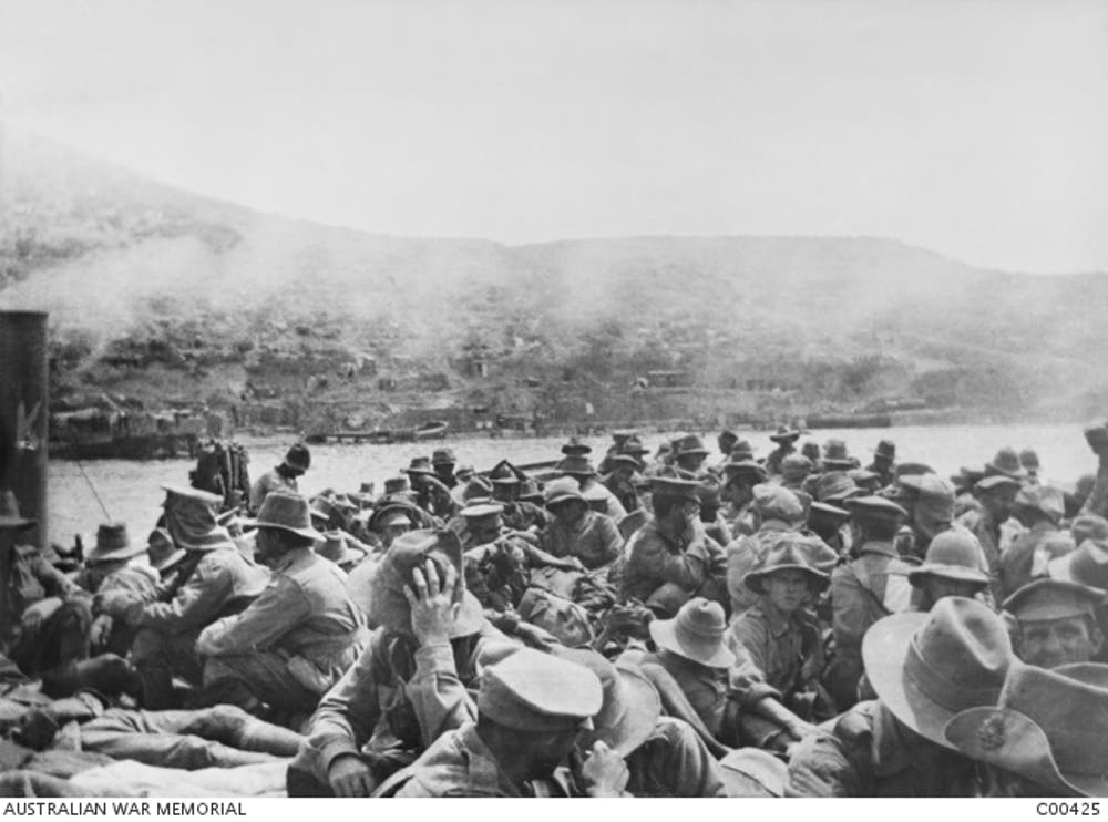 Flies, filth and bully beef: life at Gallipoli in 1915