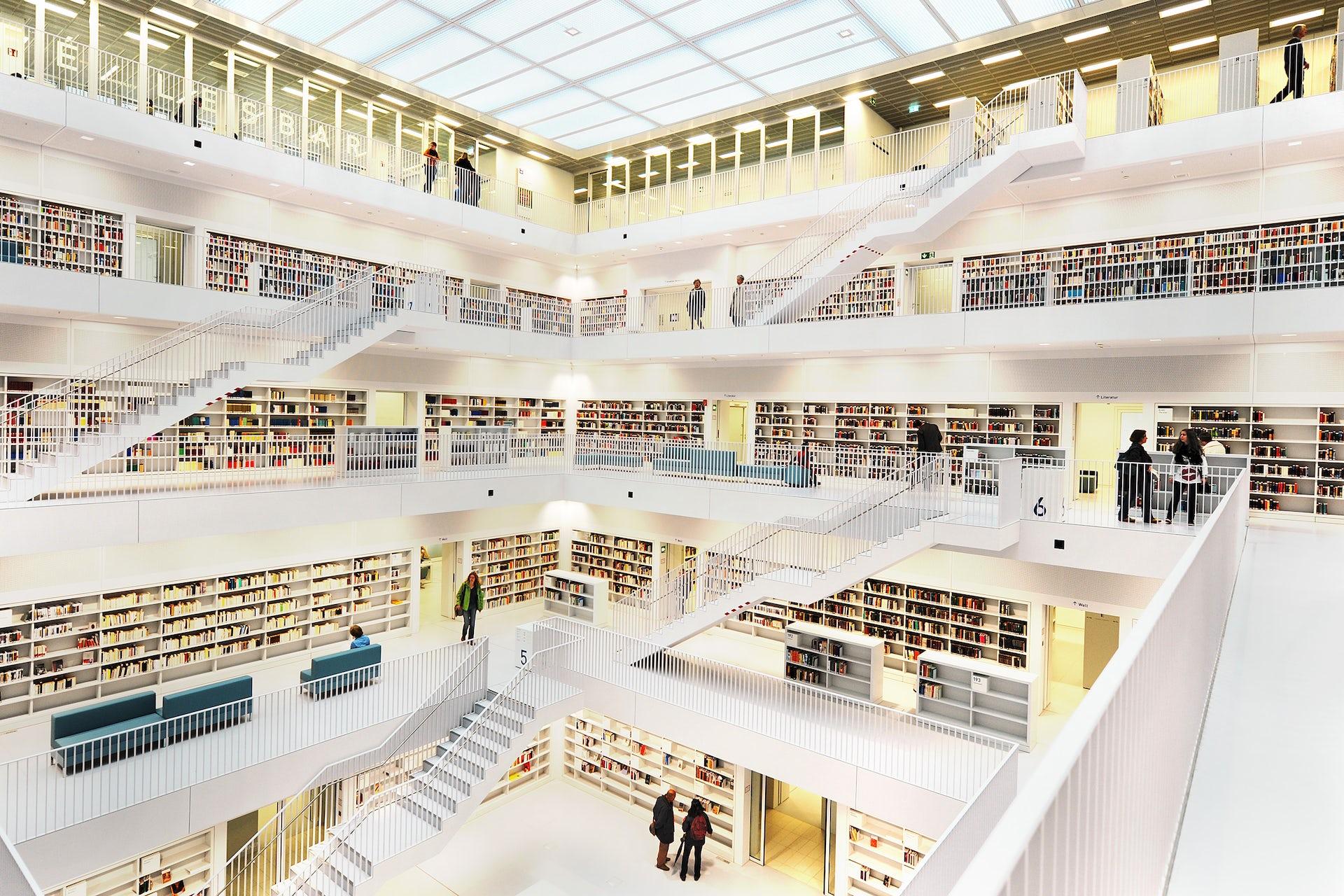 Libraries of future essay