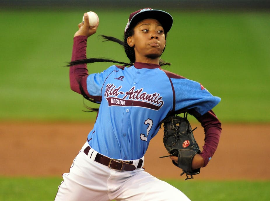 024a611b15d Mo ne Davis riveted the nation last summer with her dominating performance  in the Little League World Series. USA Today Sports Reuters