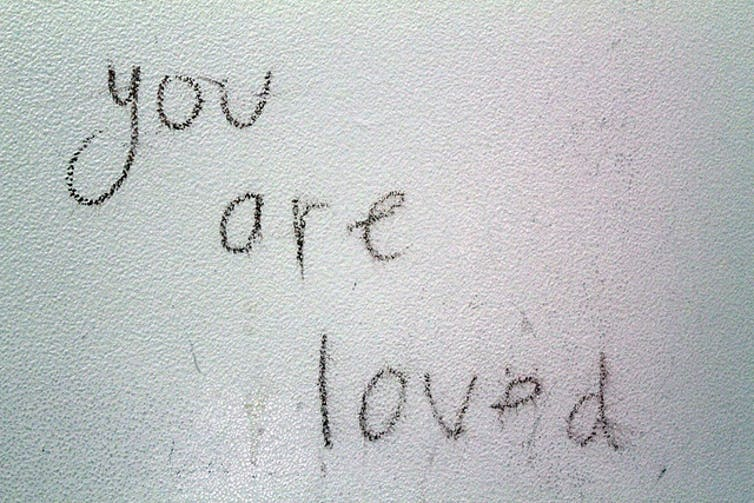 graffiti in womens bathrooms tended to be more supportive quinn dombrowskiflickr cc by sa