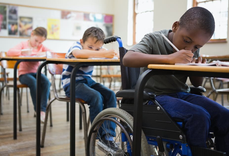 Career guidance can keep disabled kids from slipping through