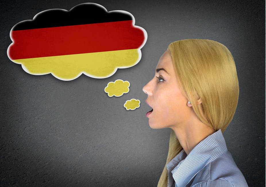How to say hook up in german