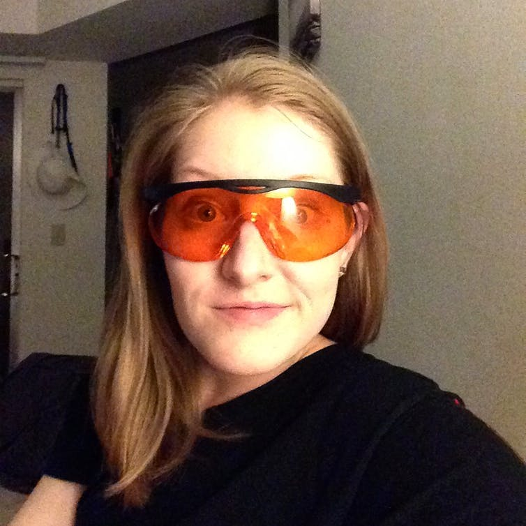 7d5f38e1c1 Can wearing orange-tinted glasses before bed help you sleep  Only ...