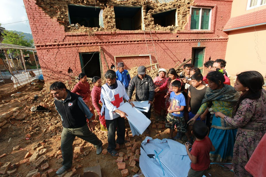 The key role of ngos in bringing disaster relief in nepal